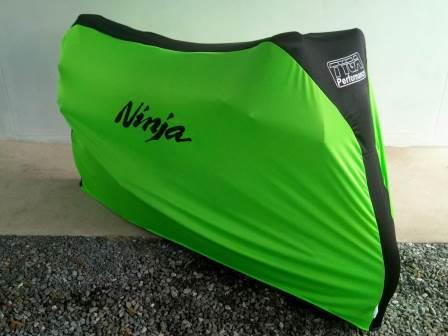 TYGA Bike Dust Cover, Lime Green/Black, NINJA